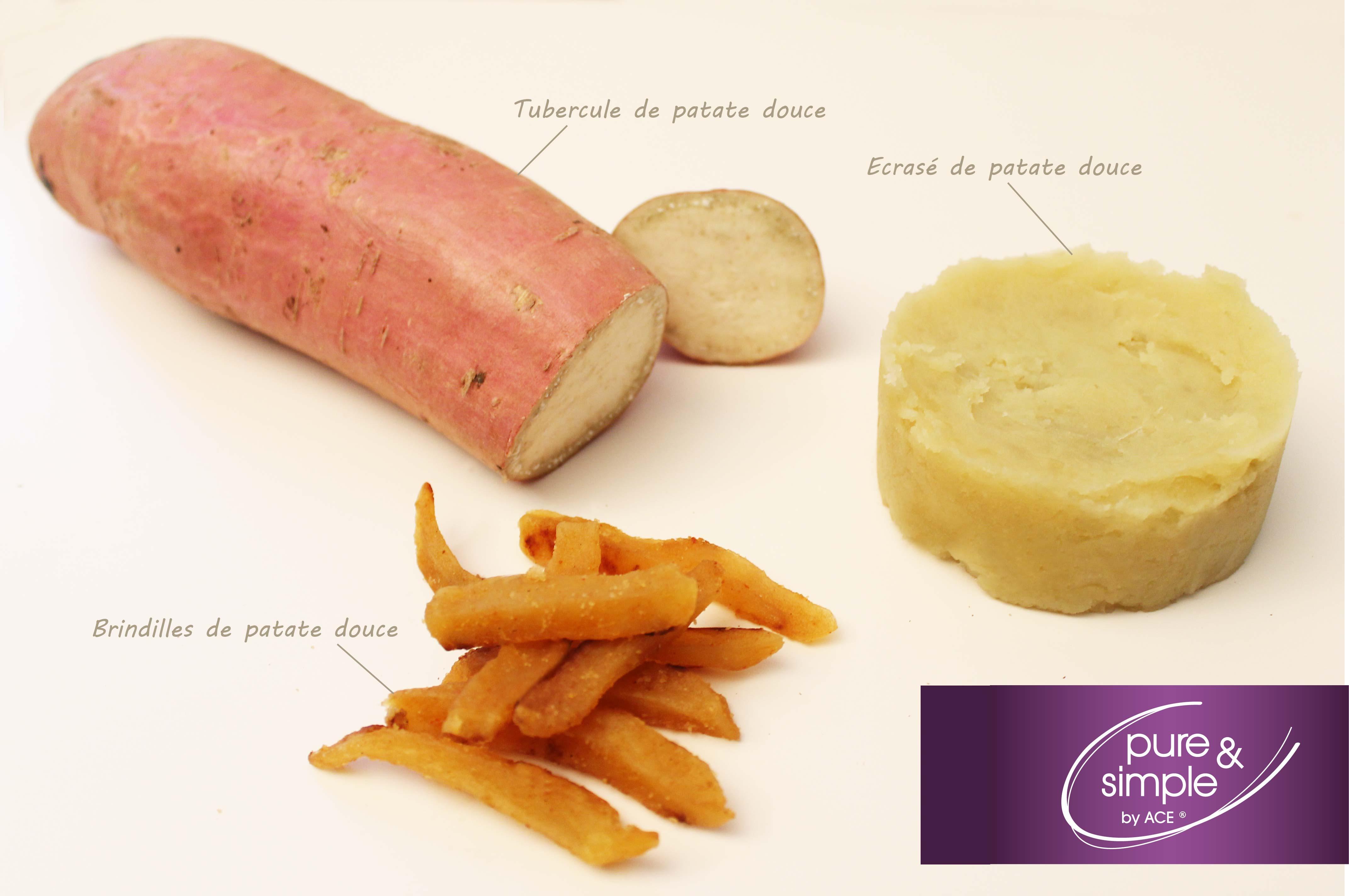 Patate douce et pomme de terre ne sont pas de la m me famille m me si elles se pr sentent - Recette patate douce blanche ...