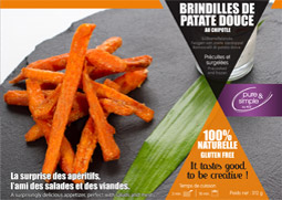 brindilles patate douce orange